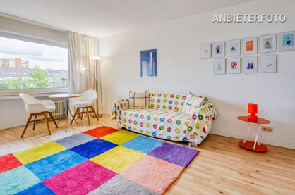 Modern möbliertes Apartment in Düsseldorf-Düsseltal