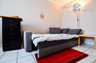 Modernly furnished and centrally located apartment in Düsseldorf-Derendorf