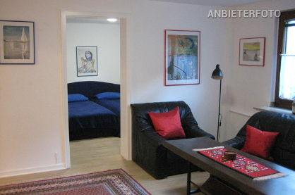 Modernly furnished apartment in Düsseldorf-Stockum