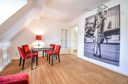 Modernly furnished apartment in Düsseldorf-Wersten