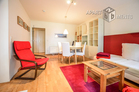 Modernly furnished and centrally located apartment with small garden in Düsseldorf-Düsseltal