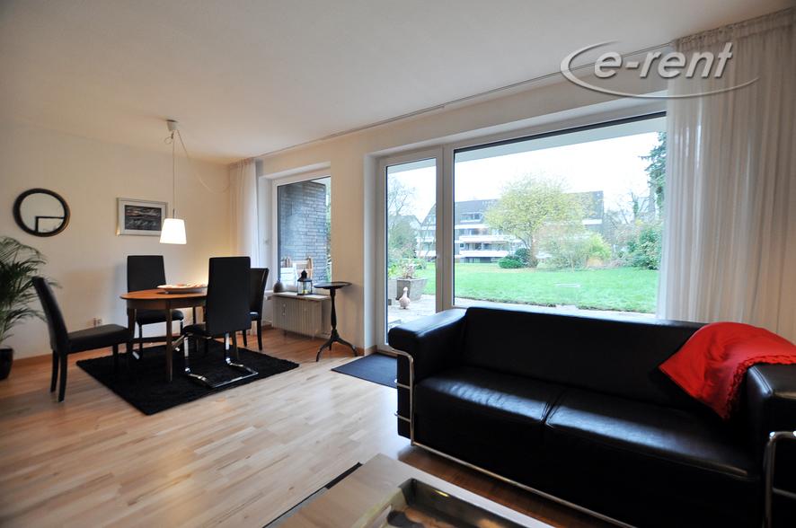Modern möblierte Maisonettewohnung mit großer Terrasse und Garten in Düsseldorf-Mörsenbroich