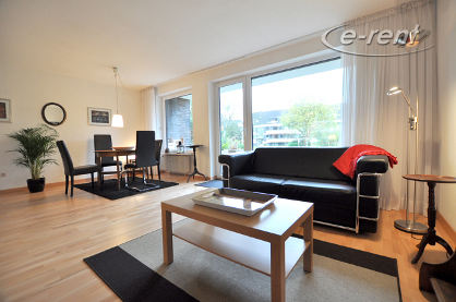 Modernly furnished maisonette apartment with large terrace and garden in Düsseldorf-Mörsenbroich