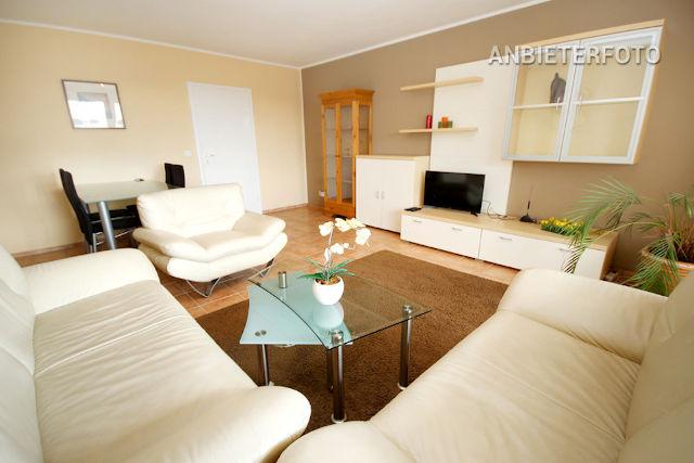großzügige 3-Zimmer-Terrassenwohnung in guter, zentraler Wohnlage - mit schönem Blick auf Hofgarten und Fernsehturm