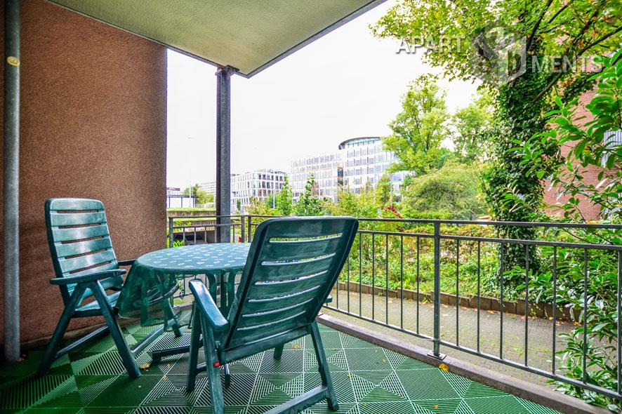 Modern möblierte Wohnung in zentrumsnaher Wohnlage in Düsseldorf-Derendorf