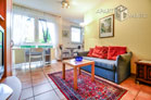 Modernly furnished apartment in a residential area close to the city centre in Dusseldorf-Derendorf