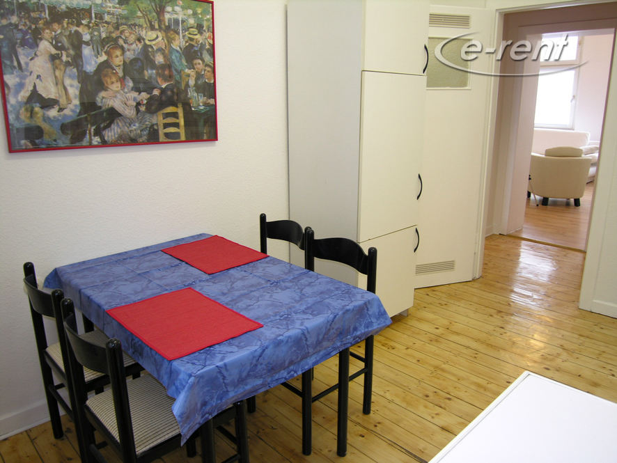 Gepflegt möblierte Wohnung in zentraler Lage von Düsseldorf-Pempelfort