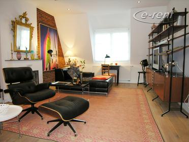 Modern möbliertes und hochwertig ausgestattetes Apartment in Düsseldorf-Oberkassel