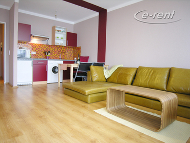 Modernly furnished apartment with balcony in Neuss-Hammfeld