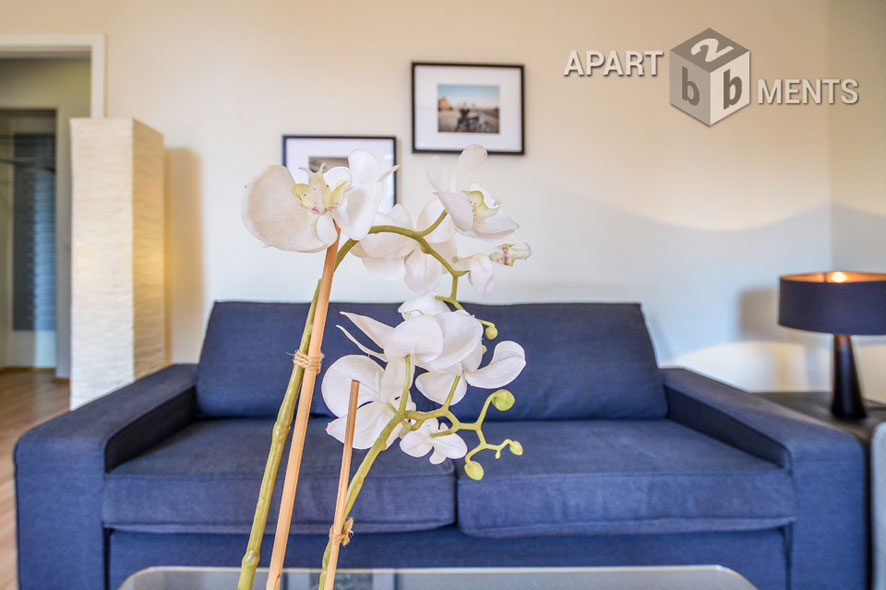 Modern furnished apartment of the upscale category in Düsseldorf-Stadtmitte