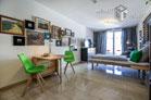 Möbliertes Apartment mit Terrasse in Uni-Nähe in Düsseldorf-Wersten