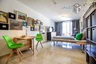 Furnished apartment with terrace near the university in Düsseldorf-Wersten