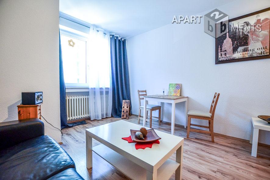 Modern möbliertes und und zentral gelegenes Apartment in Düsseldorf-Flingern-Nord