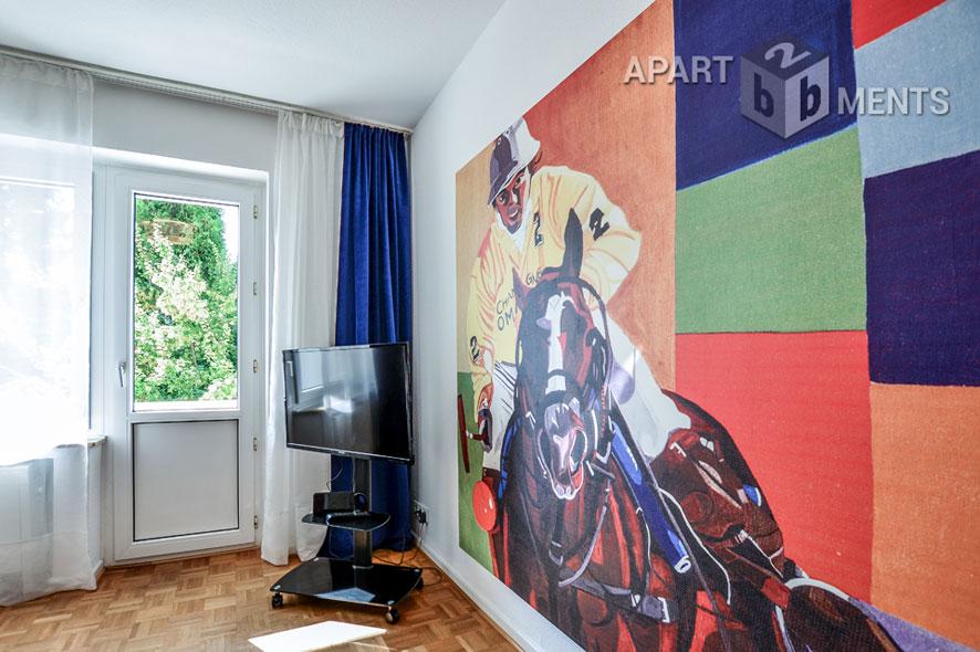 2 Zimmerwohnung mit Blick auf parkähnlichen Garten