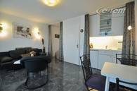 Exclusively furnished apartment in central location in Düsseldorf-Pempelfort