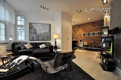 Modern und hochwertig möblierte Designerwohnung in Düsseldorf-Oberkassel