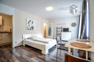 Modern furnished apartment with very good equipment in Dusseldorf-Pempelfort