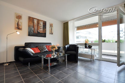 Exclusively furnished apartment in a central residential area in Düsseldorf-Derendorf