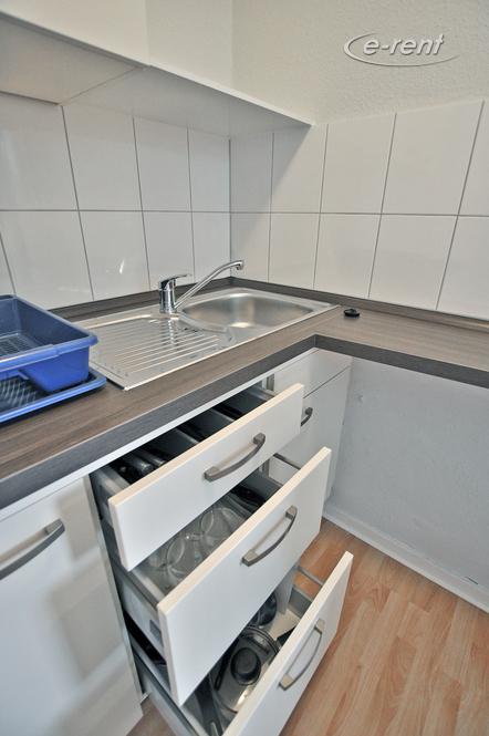 Modern möblierte und gut ausgestattete Wohnung in Düsseldorf-Pempelfort