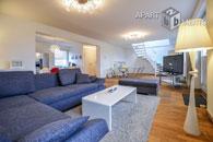 Modern möblierte und zentral gelegene Maisonettewohnung in Düsseldorf-Stadtmitte