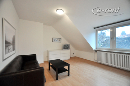 Modernly furnished apartment in a very attractive and central residential area in Dusseldorf-Carlstadt