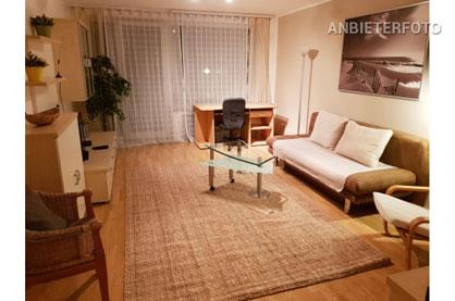 Modern möblierte und zentral gelegene Wohnung in Düsseldorf-Stadtmitte