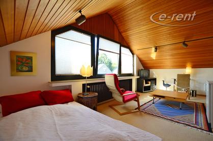 Gästezimmer mit Dachschrägen