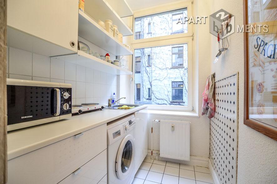 Möbliertes Appartement in zentraler aber ruhiger Lage in Düsseldorf-Pempelfort
