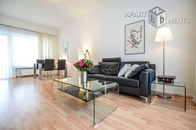 Modern möblierte Wohnung in Düsseldorf-Düsseltal