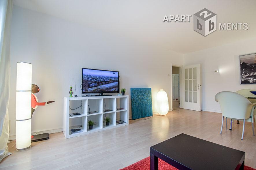 Modern möblierte Wohnung in guter Wohnlage am Zoopark in Düsseldorf-Düsseltal