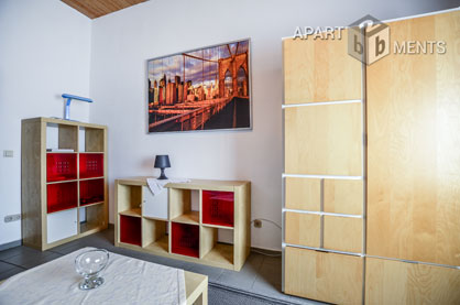 Modern 1-room apartment in Düsseldorf-Wersten