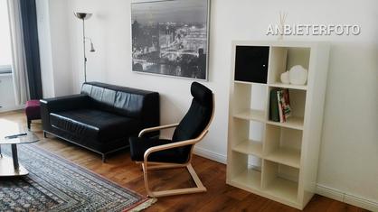 Modern möblierte Altbauwohnung in Düsseldorf-Grafenberg