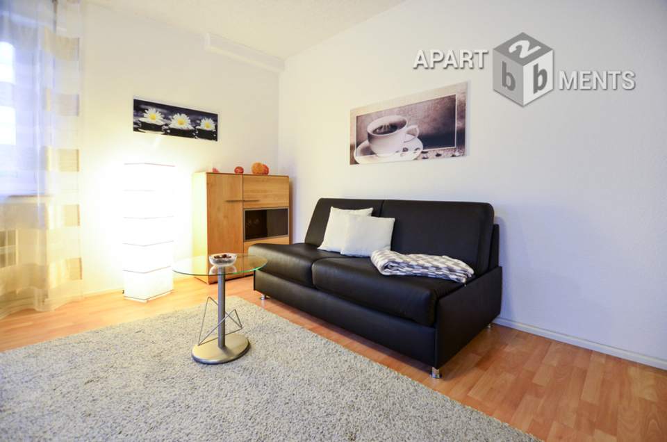 Moderne 1 Zi-Wohnung mit hervorragender Ausstattung in ruhiger Lage