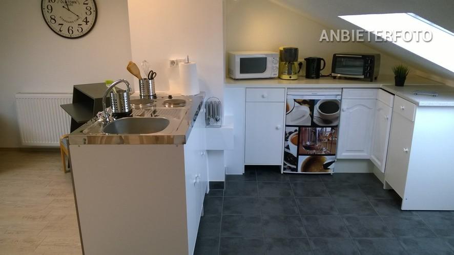 Modern möbliertes und zentral gelegenes Maisonetteapartment in Neuss-Weckhoven