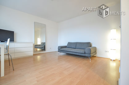 Modern furnished apartment in very attractive and central residential area in Düsseldorf-Carlstadt