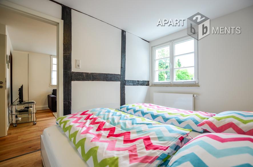 Hochwertig möblierte Wohnung in Leverkusen-Fettehenne