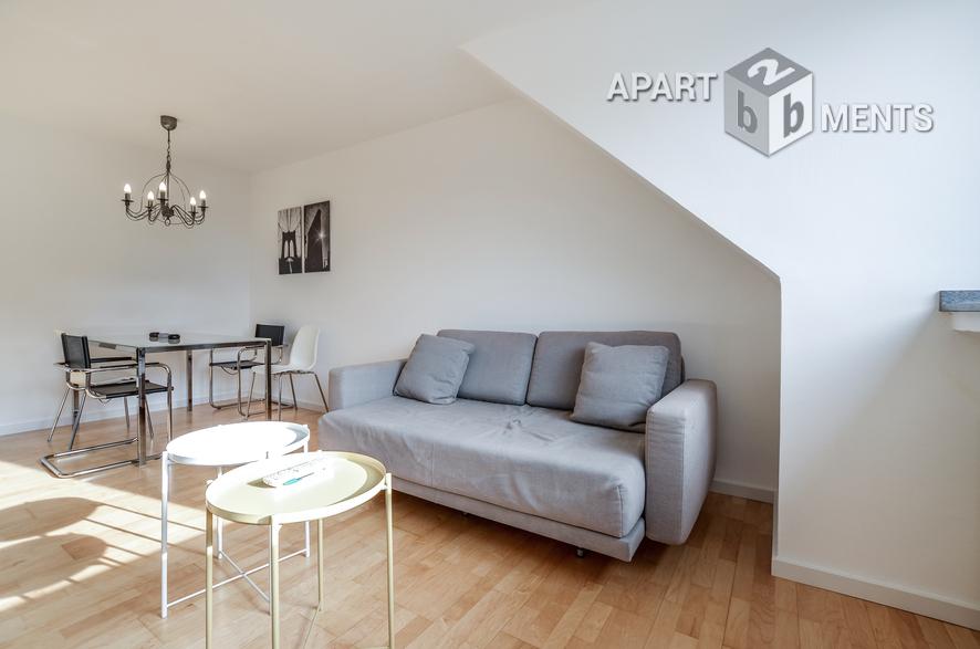 Modern möblierte und sanierte Wohnung in Düsseldorf-Oberbilk
