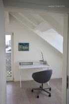Modern design furnished new villa with large terrace  protected from view in Neuss-Holzheim