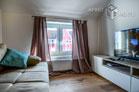 Modern möblierte Wohnung mit Balkon in zentraler Lage von Düsseldorf-Bilk