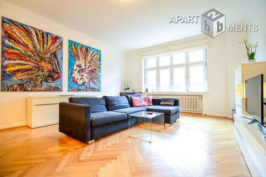 Modern möblierte Wohnung der Top-Kategorie in Düsseldorf-Düsseltal-Zoo