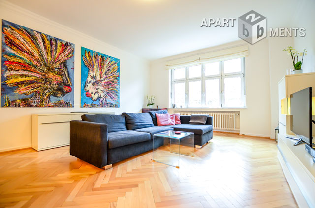 Modern furnished apartment in Dusseldorf-Düsseltal-Zoo