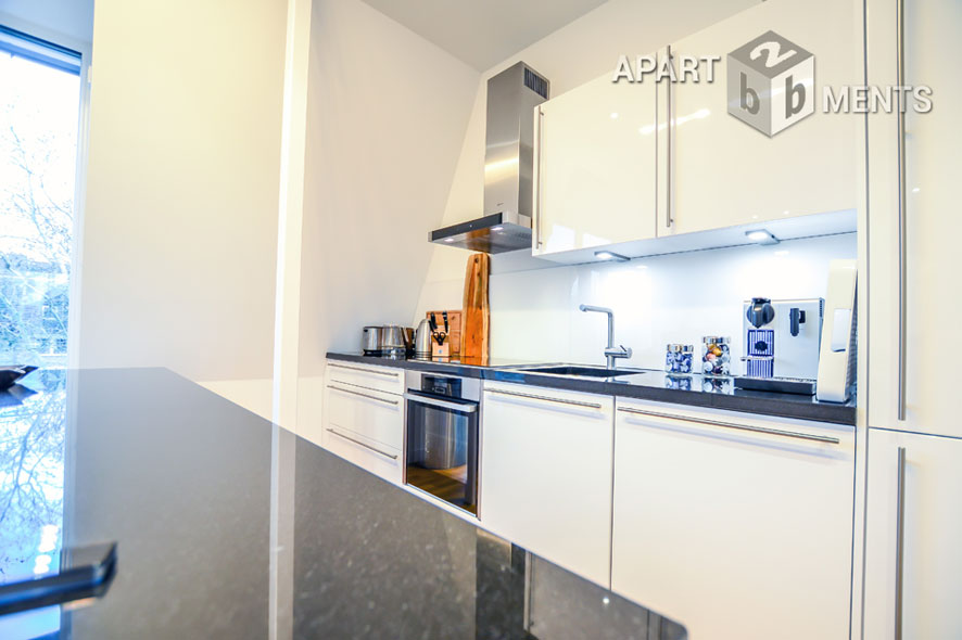 Modern furnished apartment of the top category in Dusseldorf-Düsseltal-Zoo