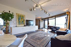 Modernly furnished apartment with balcony and underground parking space in Düsseldorf-Golzheim