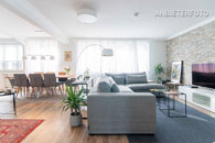 Möblierte City-Wohnung in Düsseldorf-Bilk