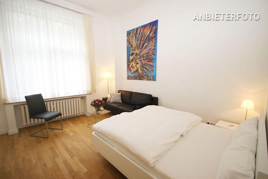 Modern möblierte Wohnung der Top-Kategorie in Düsseldorf-Düsseltal