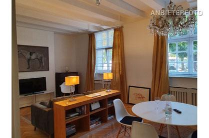 Exklusive und möblierte Wohnung in Düsseldorf-Carlstadt