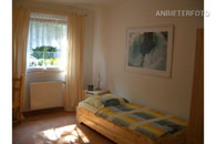 Furnished single room with private bathroom in Düsseldorf Unterrath