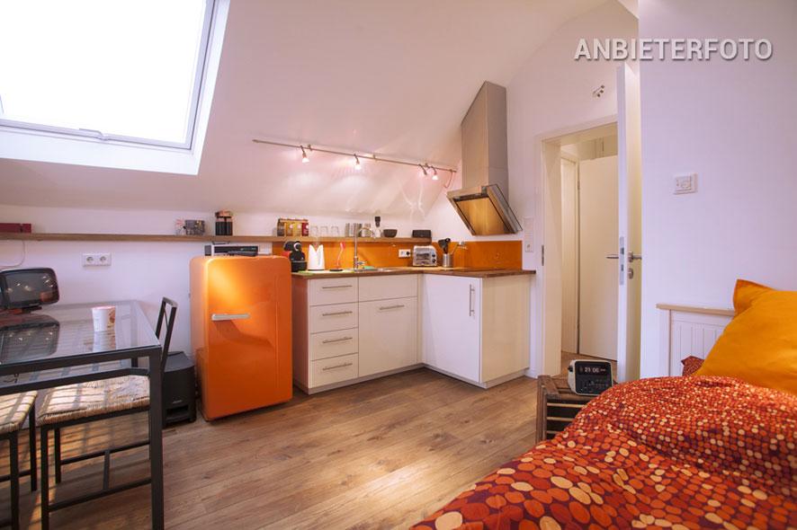 Möbliertes kleines Apartment in Düsseldorf-Oberbilk nah Hauptbahnhof