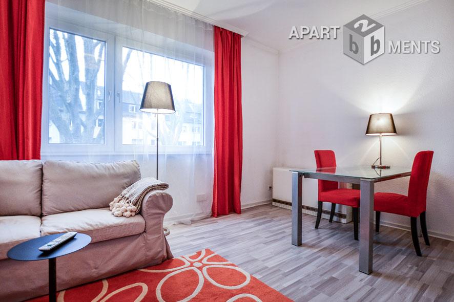 Möblierte 2 Zimmerwohnung in zentraler Lage in Düsseldorf-Wersten