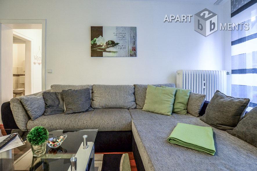 Gemütlich möblierte Wohnung in Krefeld unweit des Hauptbahnhofs